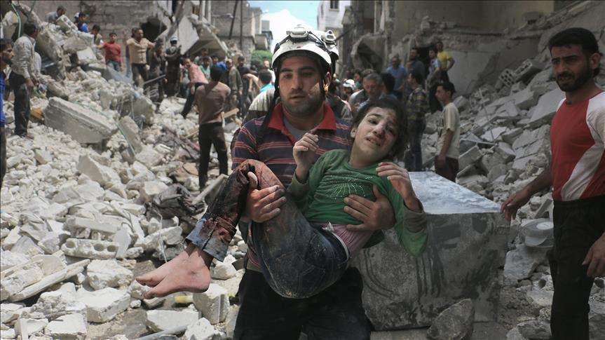 من مجازر حلب