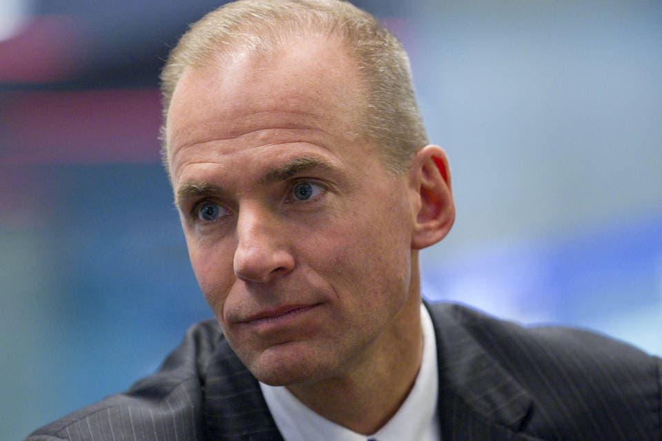 دينيس مولينبيرغ، الرئيس التنفيذي لشركة بوينغ للطيران