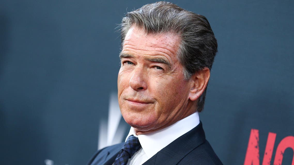 """Pierce Brosnan attends the LA Premiere of """"No Escape"""" held at Regal Cinemas L.A. LIVE on Monday, Aug. 17, 2015, in Los Angeles. (Photo by John Salangsang/Invision/AP)"""
