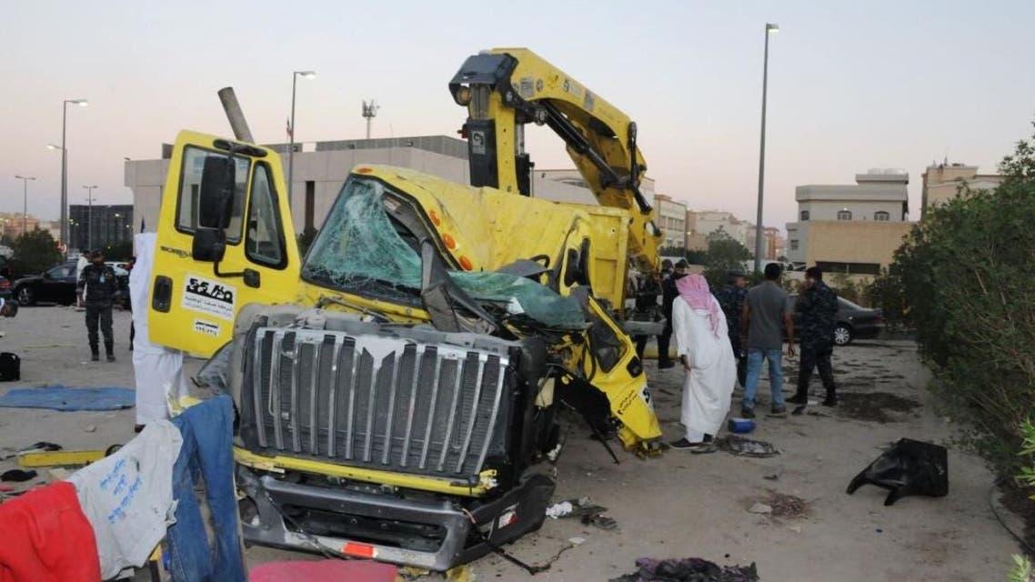 Kuwait truck KUNA