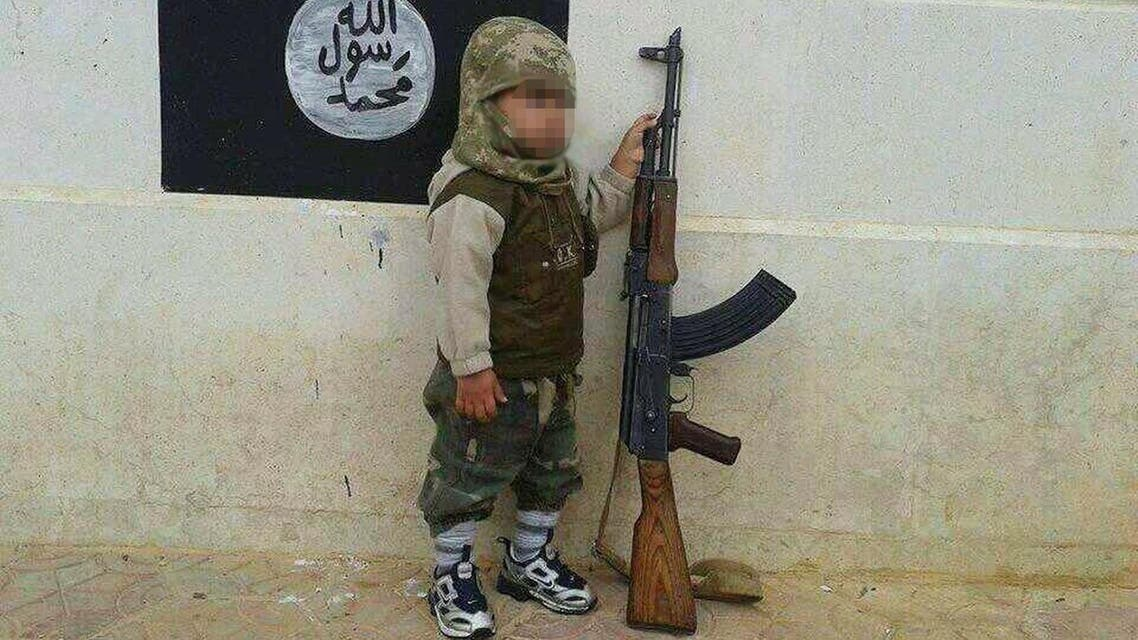 ISIS child (via ISIS propaganda)
