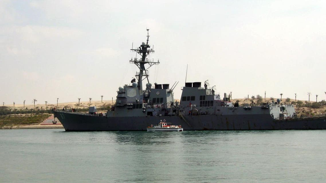 USS Mason detected two inbound missiles over a 60-minute  period while in the Red Sea off the coast of Yemen. (Reuters)
