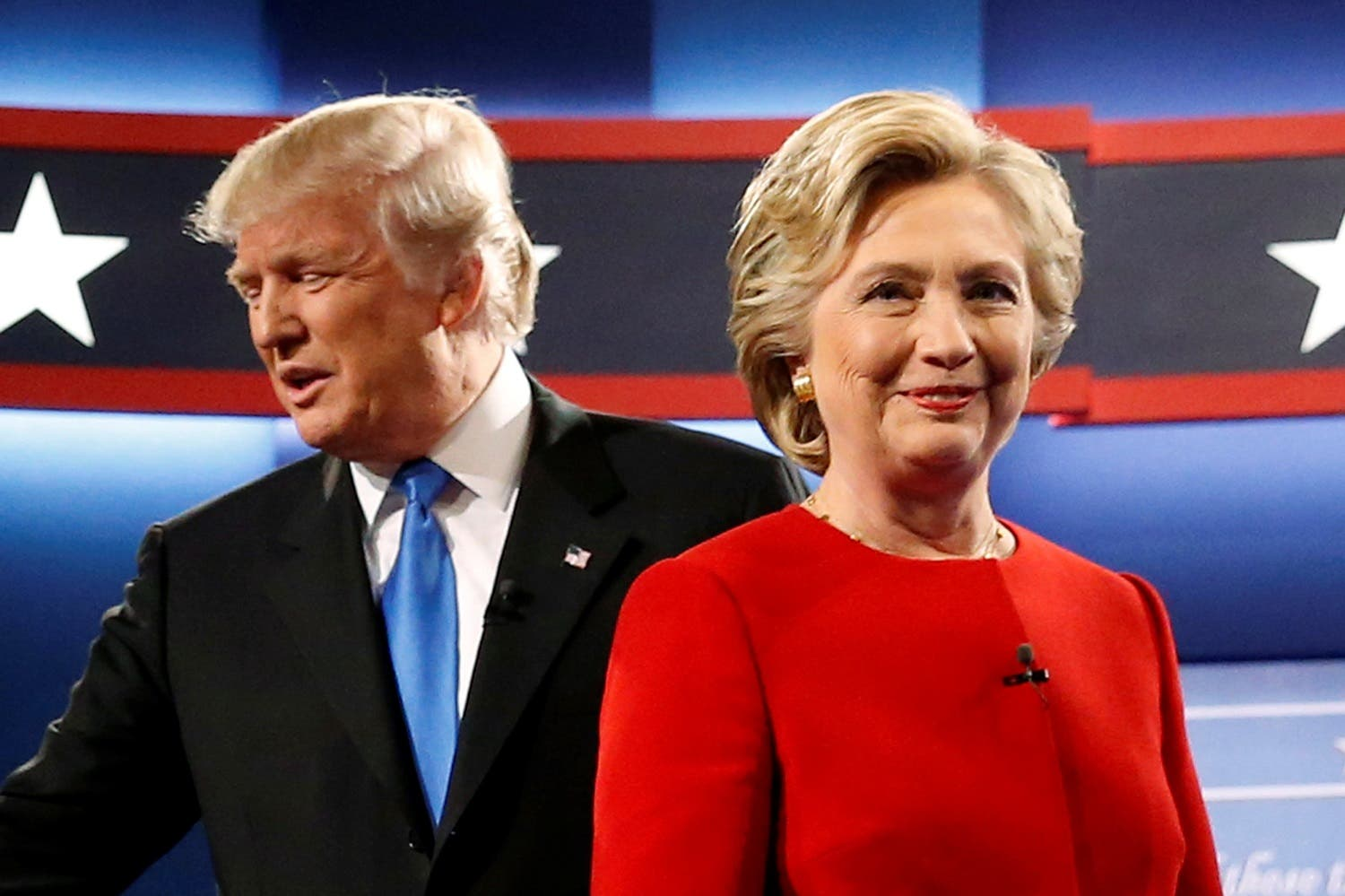 At the first debate, on Sept. 26, Trump was repeatedly put on the defensive by Clinton. (Reuters)