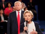 كلينتون تتقدم على ترامب بعد الفضائح