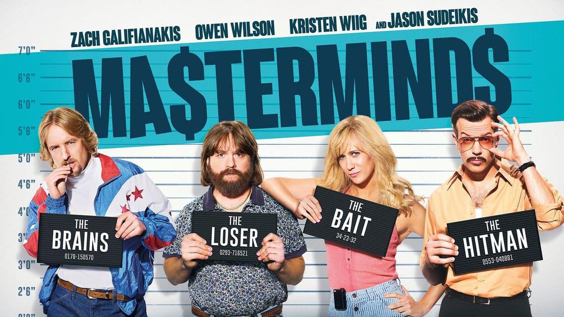 Masterminds posters (Photo courtesy: Masterminds)
