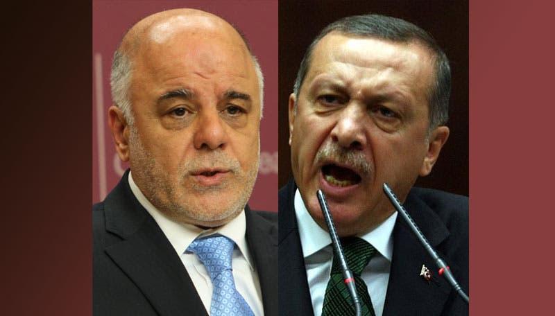 رجب طيب أردوغان وحيدر العبادي