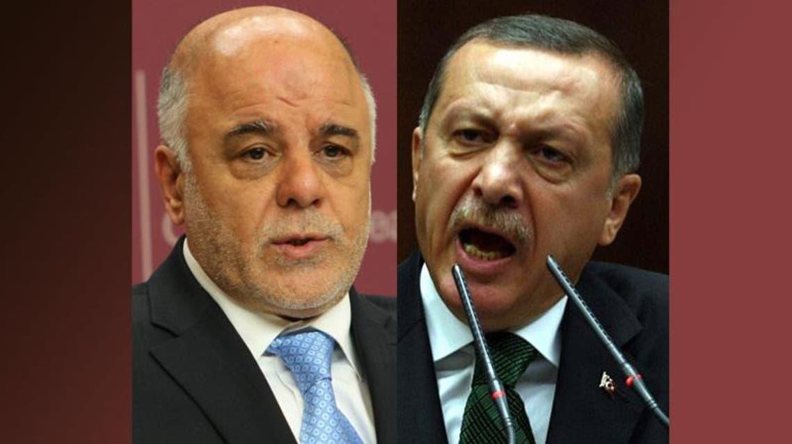 أردوغان وحيدر العبادي