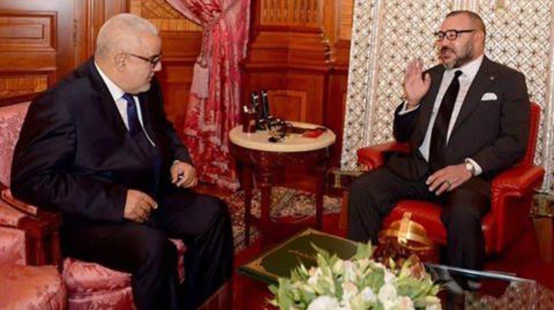 بن كيران والعاهل المغربي