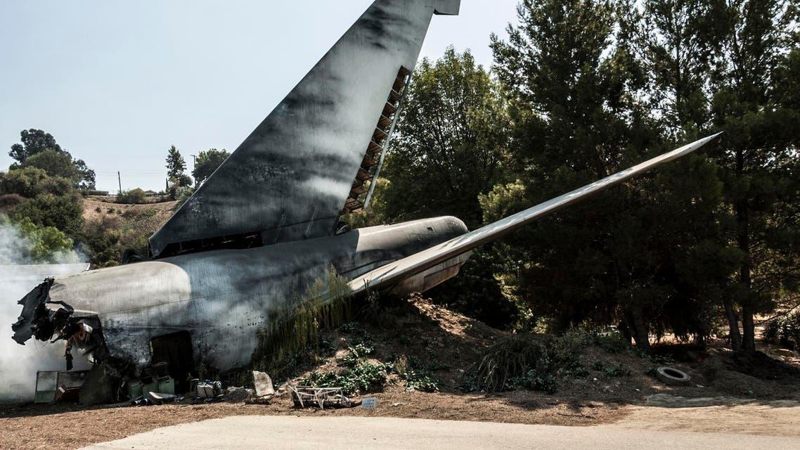 Plane crash تحطم طائرة آي ستوك