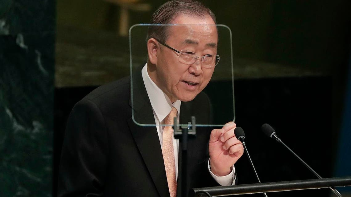 Secretary-General Ban Ki-moon speaks during the 71st session of the United Nations General Assembly, Tuesday, Sept. 20, 2016  (File Photo: AP/Julie Jacobson)