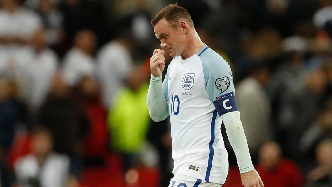 England's Wayne Rooney at full time Action Images via Reuters