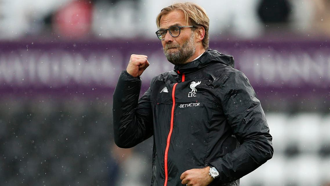 Liverpool manager Juergen Klopp celebrates after the game Action Images via Reuters