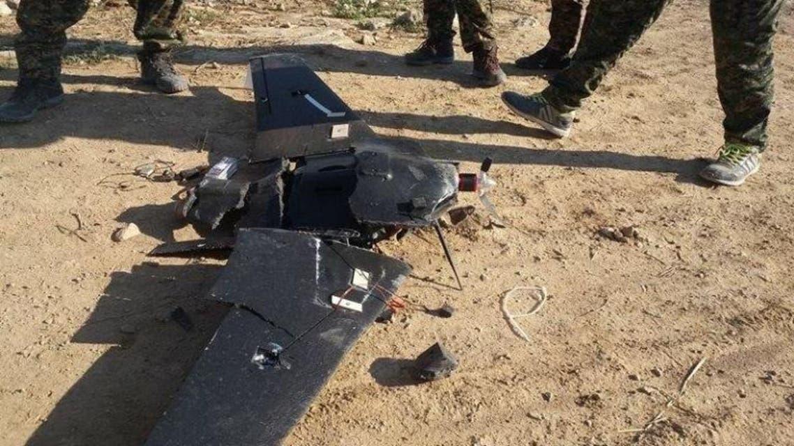 طائرة بدون طيار داعش