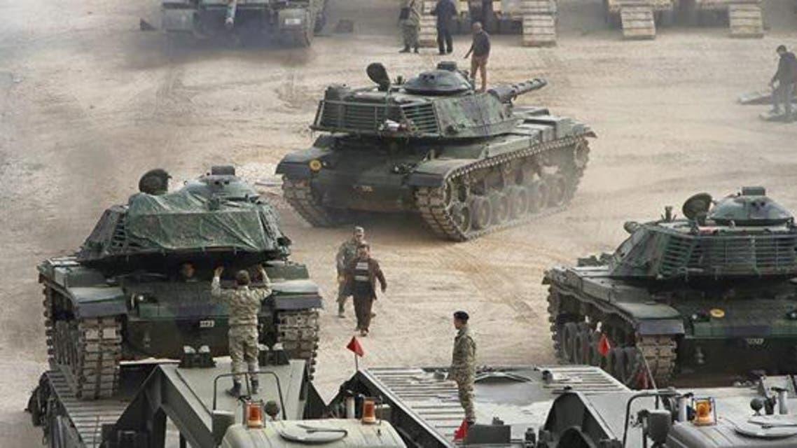 معسكر بعشيقة في العراق