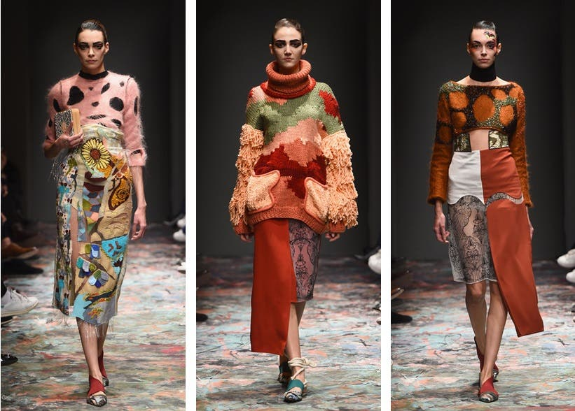 """Basak Cankes is one of the talented designers who attended this year's MBFWI with her """"Bashaques"""" brand"""