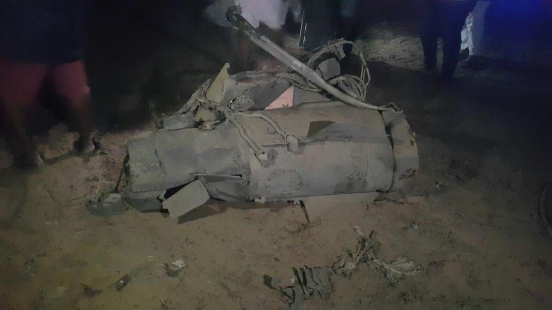 صاروخ باليستي دمر جنوب السعودية