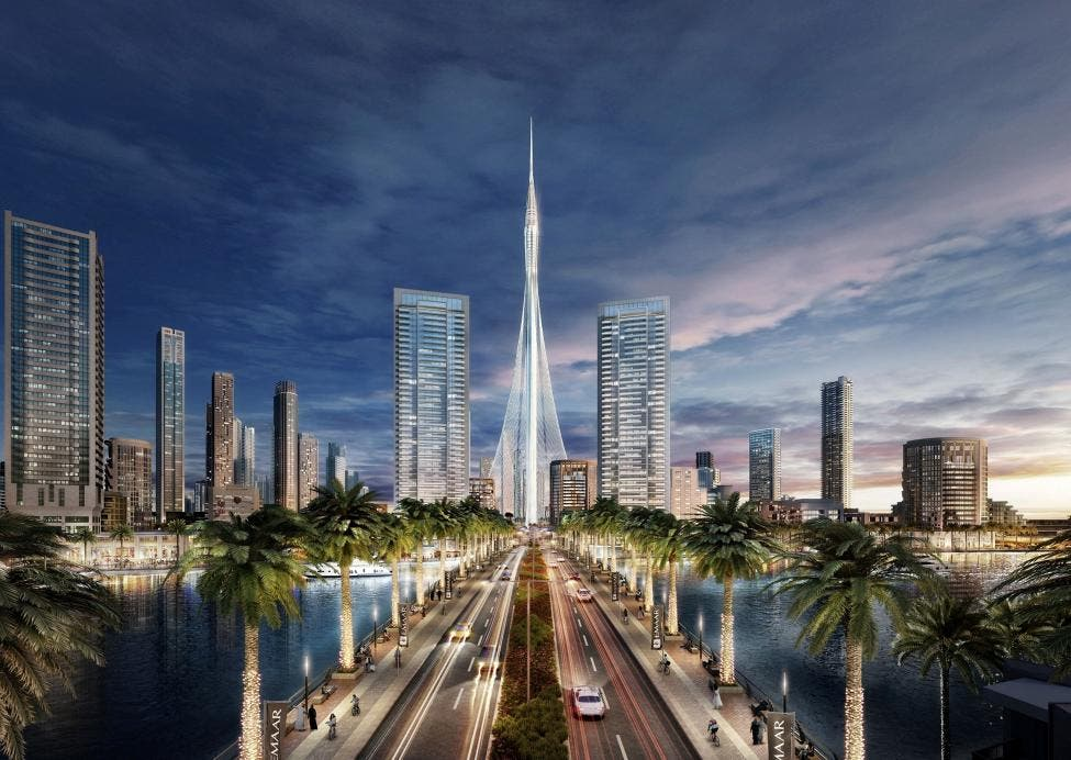 Dubai has started building what will be the world's tallest tower, pictured here in an artist's impression, another record for the city already home to the highest skyscraper. (Reuters)