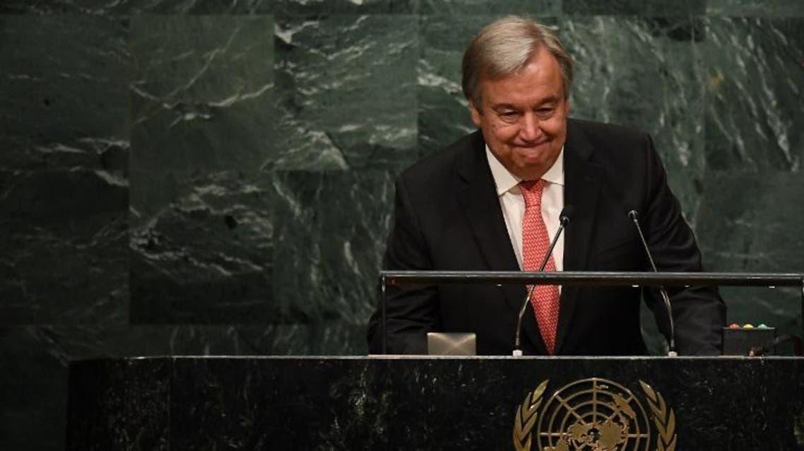Antonio Guterres AFP