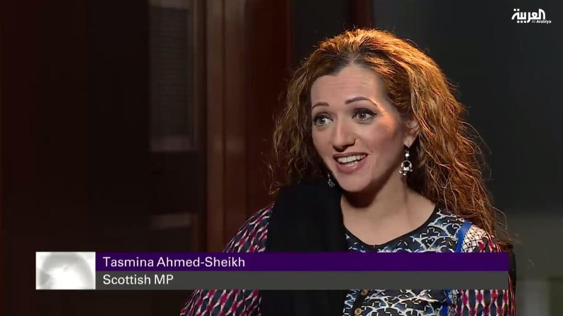 """""""Space needs to be created for women across the world, and particularly women in the Muslim world,"""" Tasmina Ahmed-Sheikh said in an interview to Al Arabiya. (Photo courtesy: Al Arabiya)"""