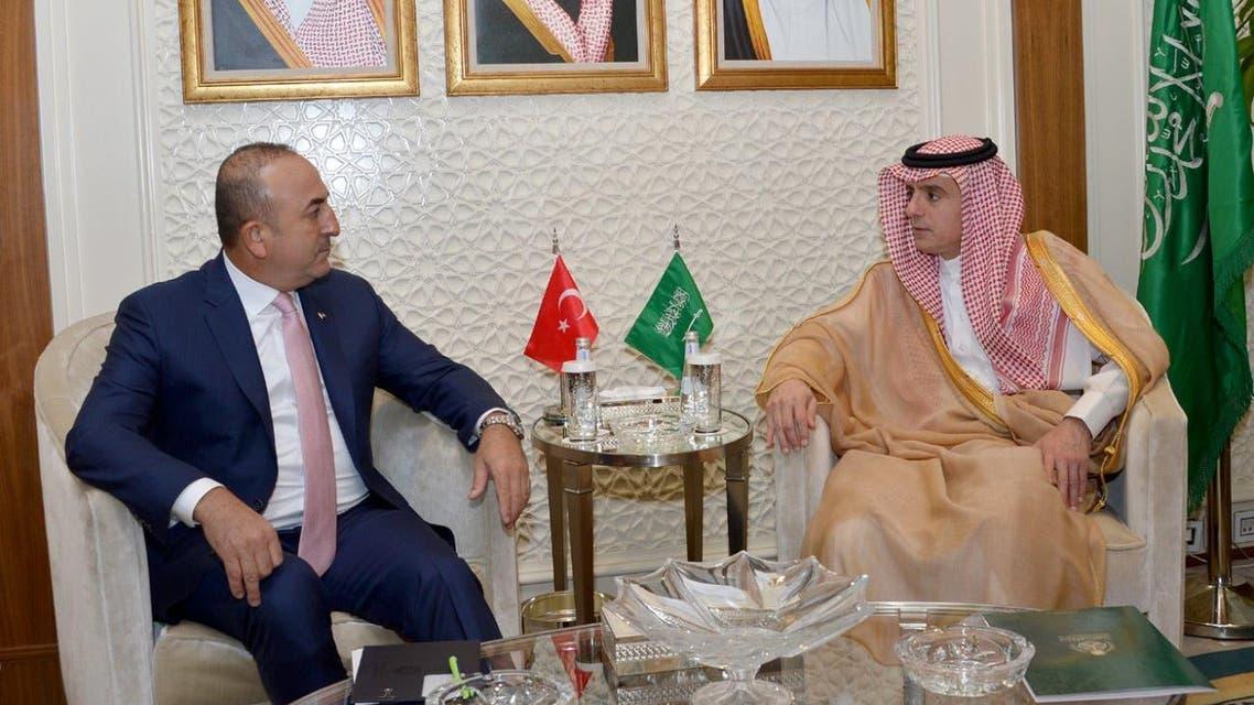 Saudi FM tukrish FM SPA