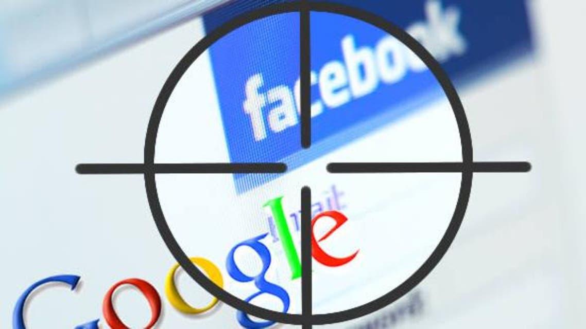 غوغل - فيسبوك