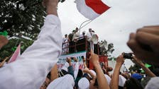 Indonesian Islamic hardliners protest Christian Governor