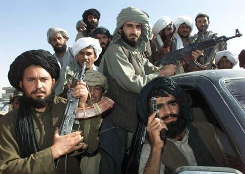 مقاتلون أفغان