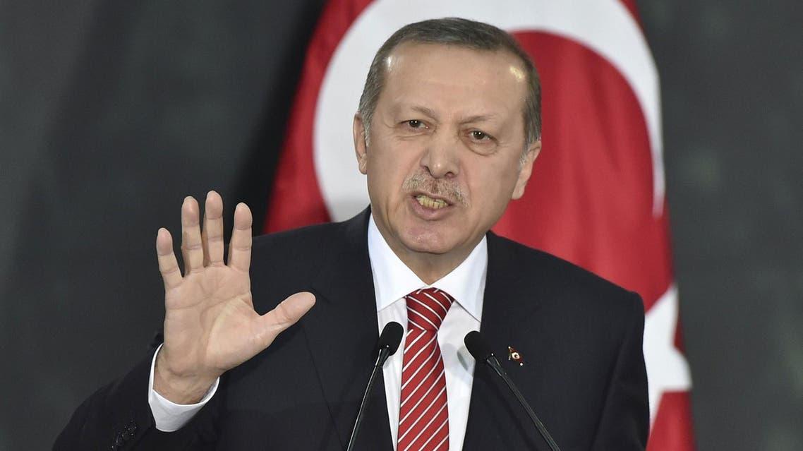 الرئيس التركي أكد أن قواته لن تنسحب من بعشيقة