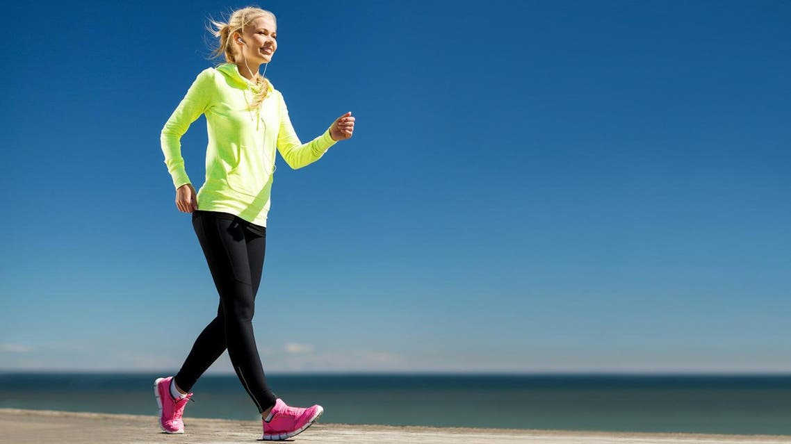 It may be hard to believe but a simple stroll can actually be a sustainable and healthy way to support your weight-loss goals. (Shutterstock)