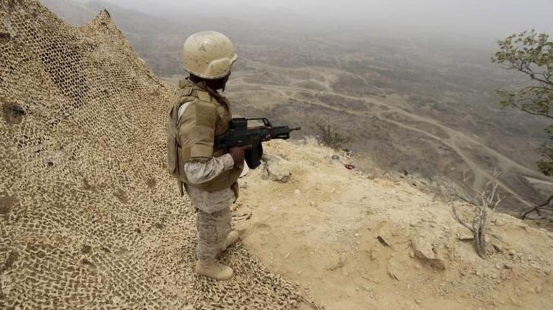 saudi soldier yemen reuters