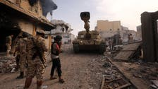 Fourteen dead as pro-govt fighters squeeze ISIS in Libya's Sirte