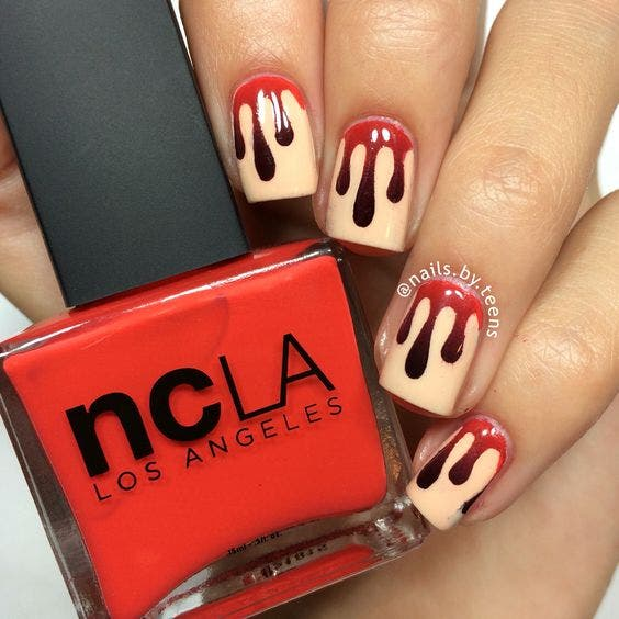 Najla Kaddour nails