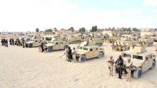 قوات مصرية في سيناء - أرشيفية