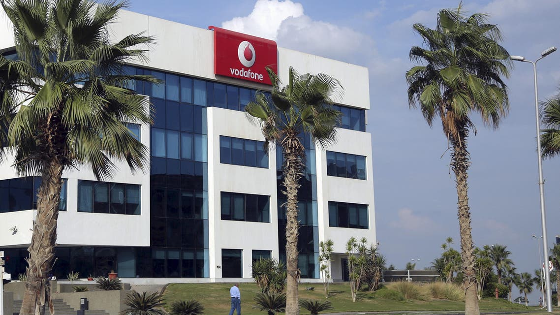 The building of Vodafone Egypt Telecommunications Co is seen at the Smart Village in the outskirts of Cairo, Egypt, October 27, 2015. REUTERS