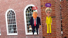 Mobile game replaces Pokemon creatures with Clinton, Trump