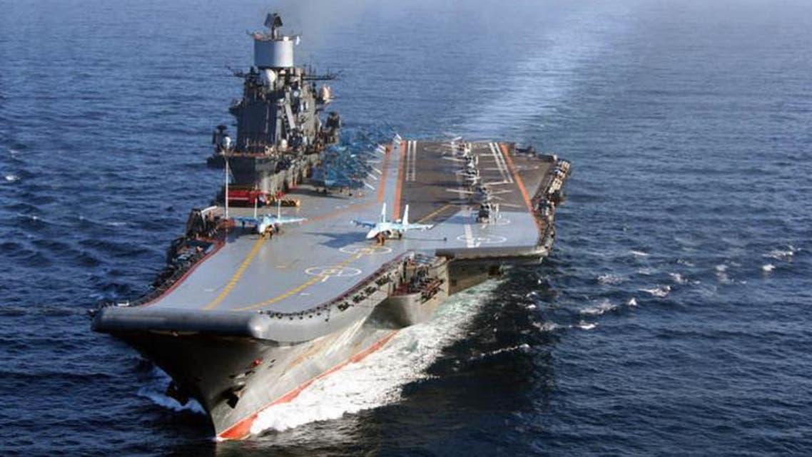 حاملة الطائرات الروسية اميرال كوزنتسوف