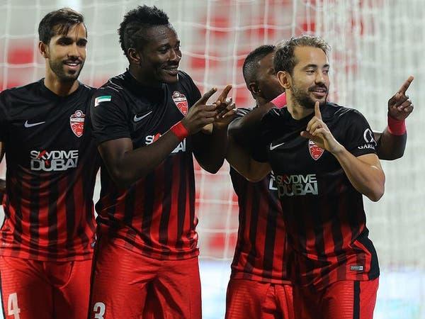 جيان يمنح الأهلي كأس السوبر الإماراتي المغربي