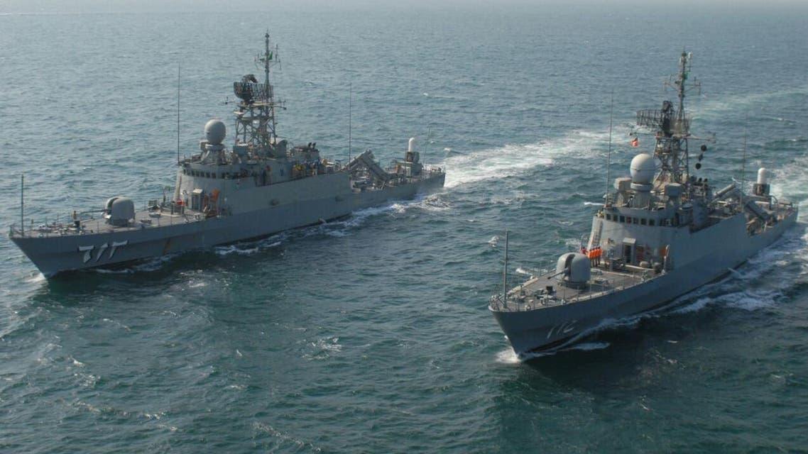maneuvres saudi arabia navy