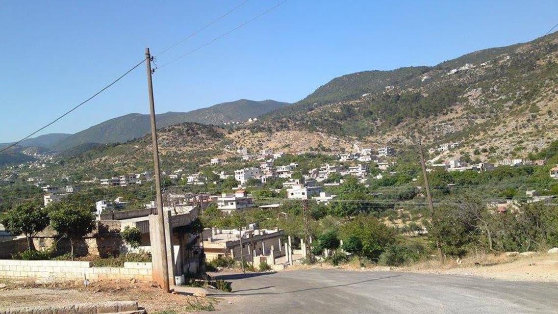 من قرى مصياف في ريف حمارة الغربي