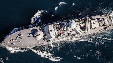 سفن إيران الحربية تزيد التوتر في خليج عدن