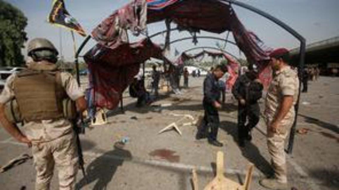تفجير انتحاري جنوب بغداد