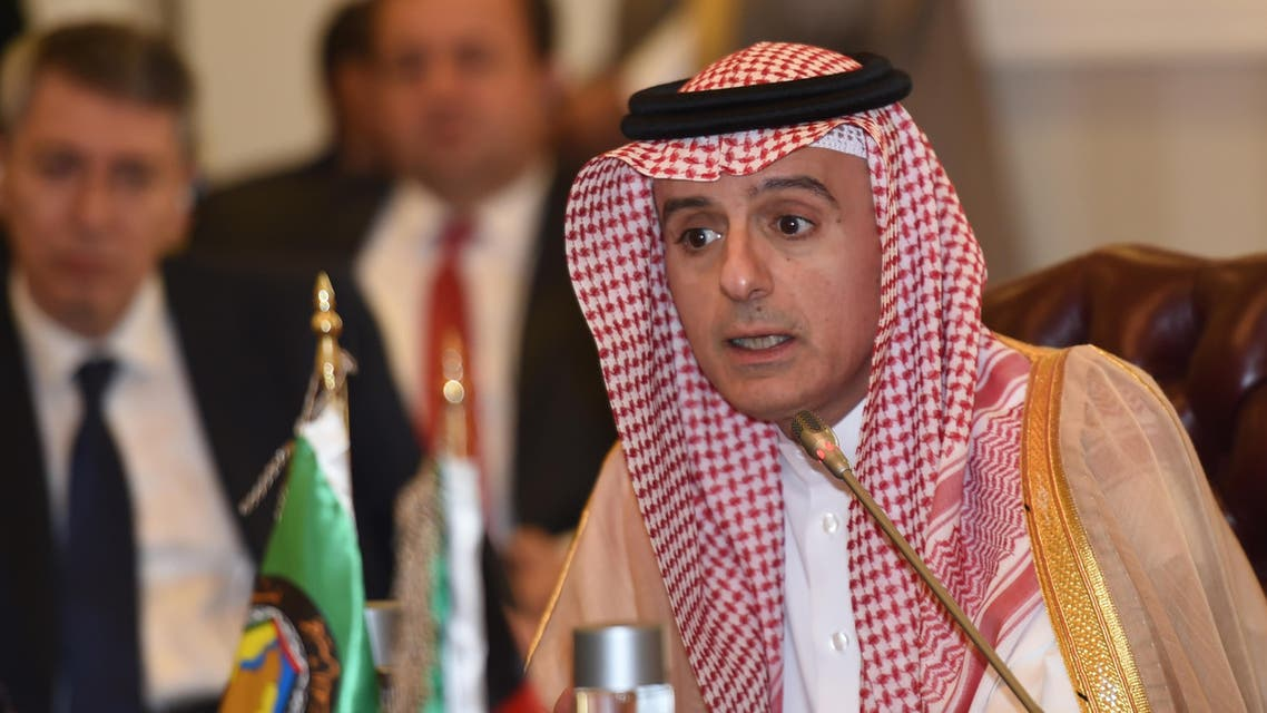 Jubeir said the Kingdom was being very careful to abide by humanitarian law in the Yemen conflict. (AFP)