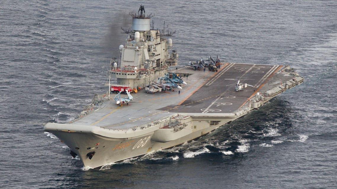 النروج تنشر صورا لسفن روسية روسيا تبحر إلى سوريا