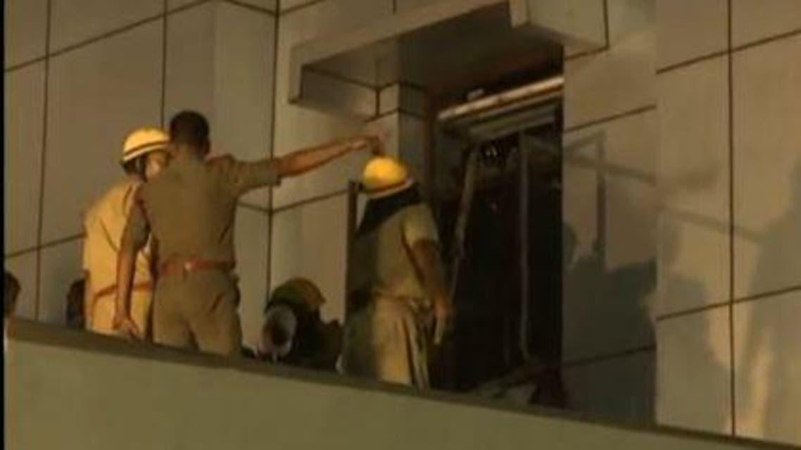 Hospital fire (Reuters)