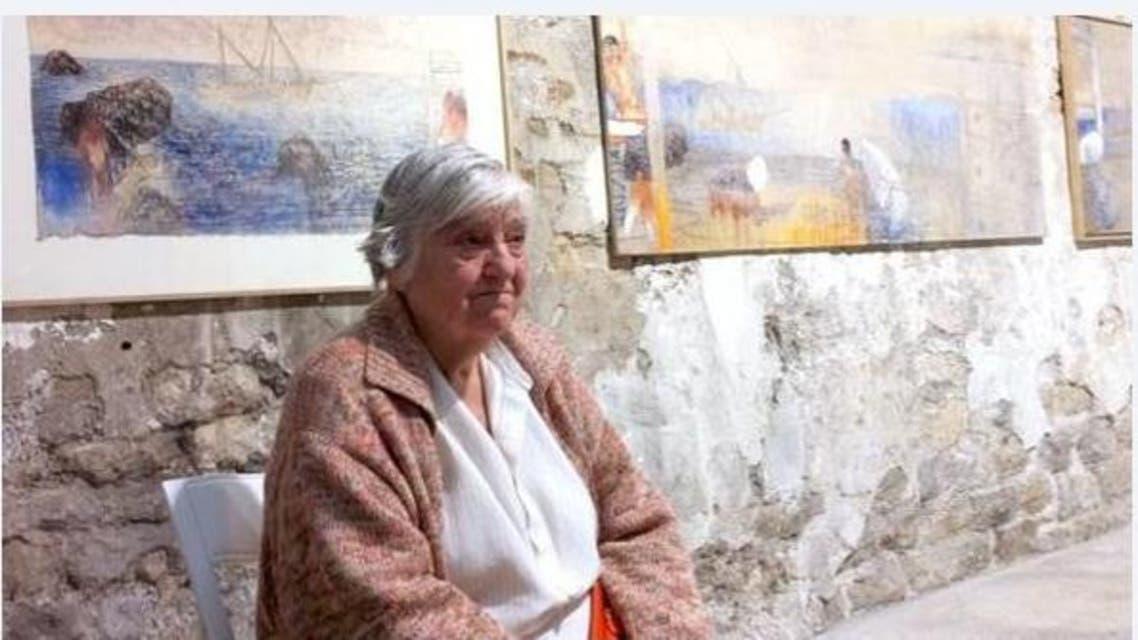 الفنانة إيتل عدنان