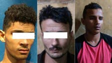 In photos: Five Egyptians confess to murdering Saudi teacher