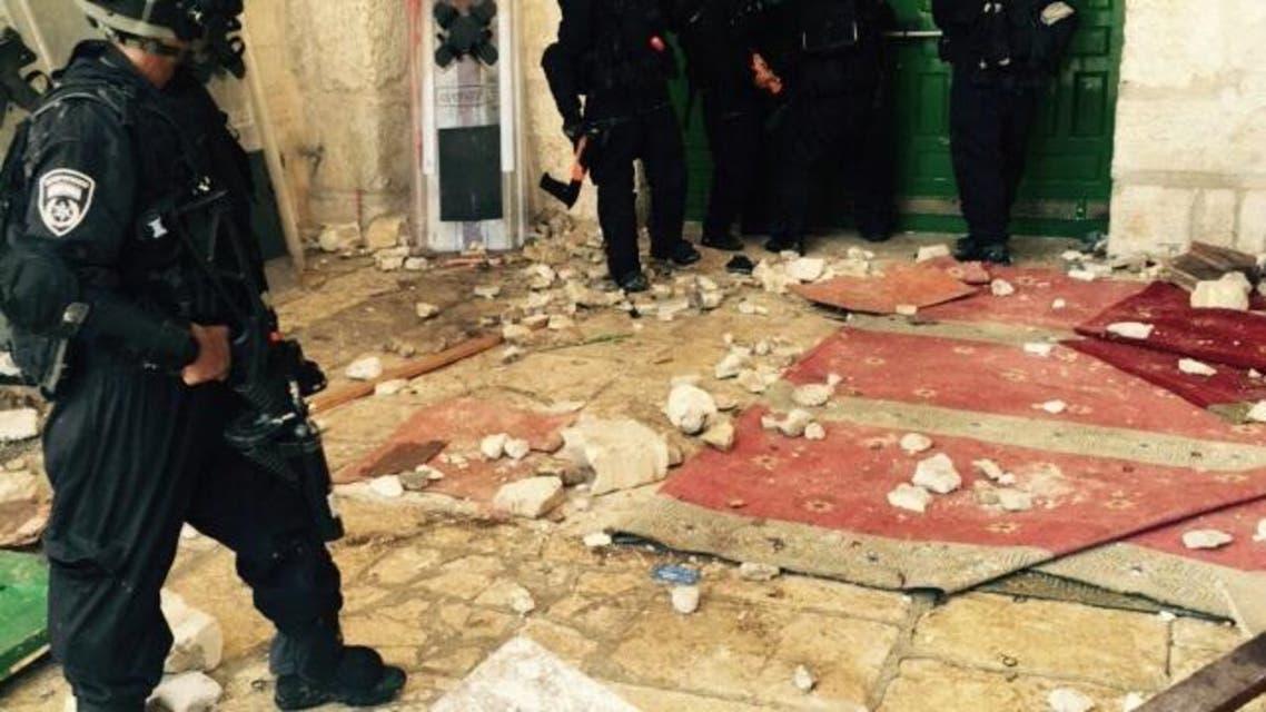 يوم اقتحم جنود الاحتلال الأقصى وعاثوا فيه خراباً