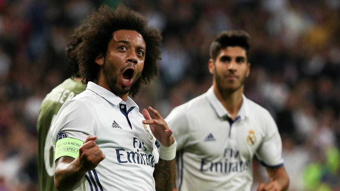 There was concern in Madrid before the game about the threat that would be posed by visiting fans after violence marred Legia's game against Dortmund. (Reuters)