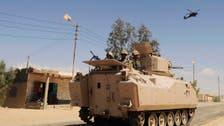 Egypt military says 40 militants killed in campaign