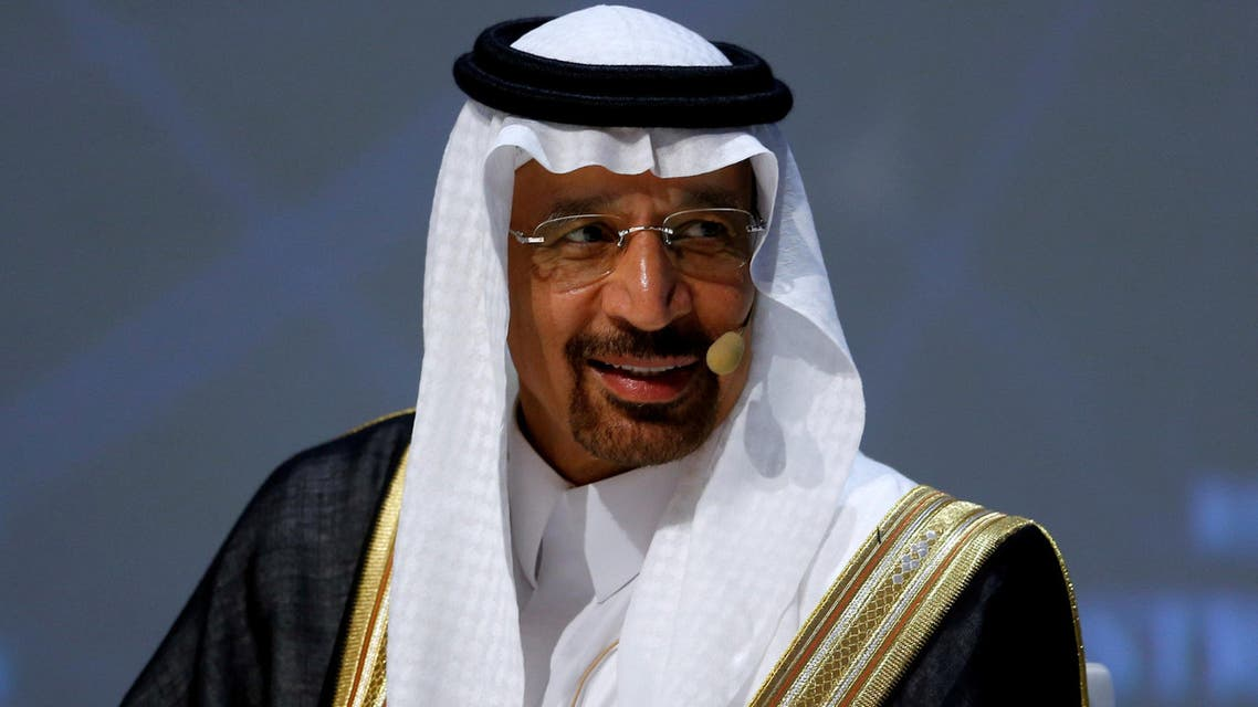 Saudi Arabia's Energy Minister Khalid al-Falih talks during the 23rd World Energy Congress in Istanbul, TurSaudi Arabia's Energy Minister Khalid al-Falih talks during the 23rd World Energy Congress in Istanbul, Turkey, on October 10, 2016. (Reuters)